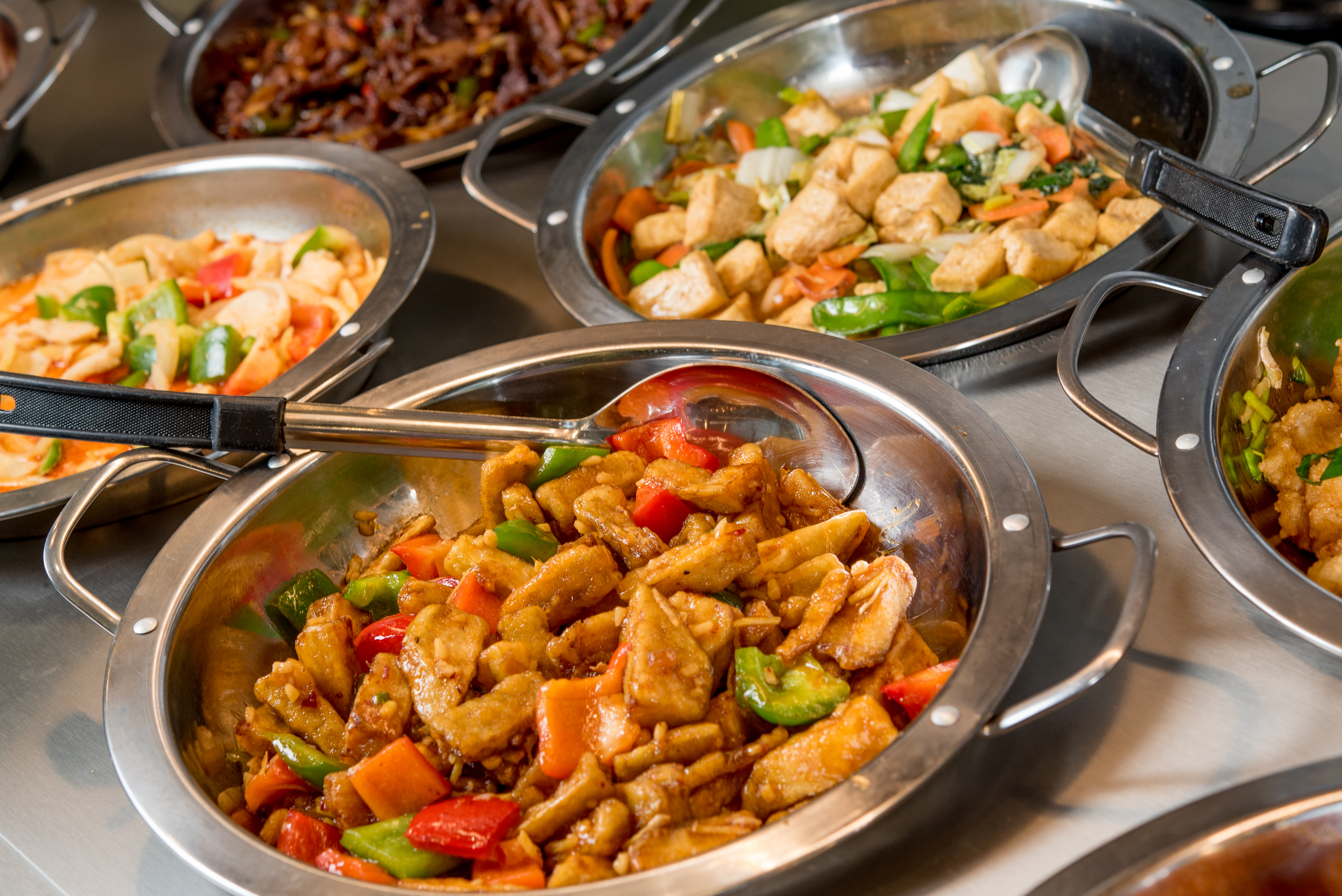 buffet wok