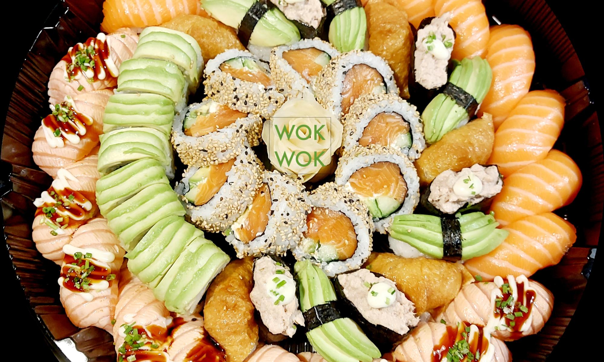Family sushi setti 52kpl tarjous 42€