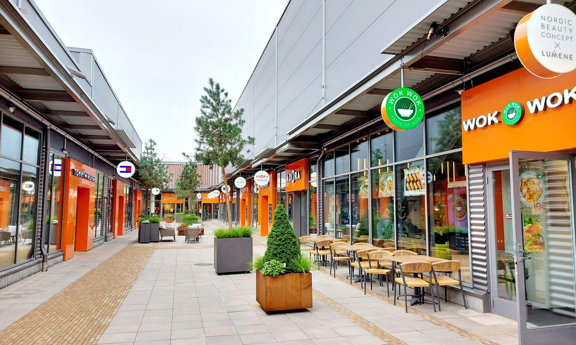 Helsinki Outlet shopping centre